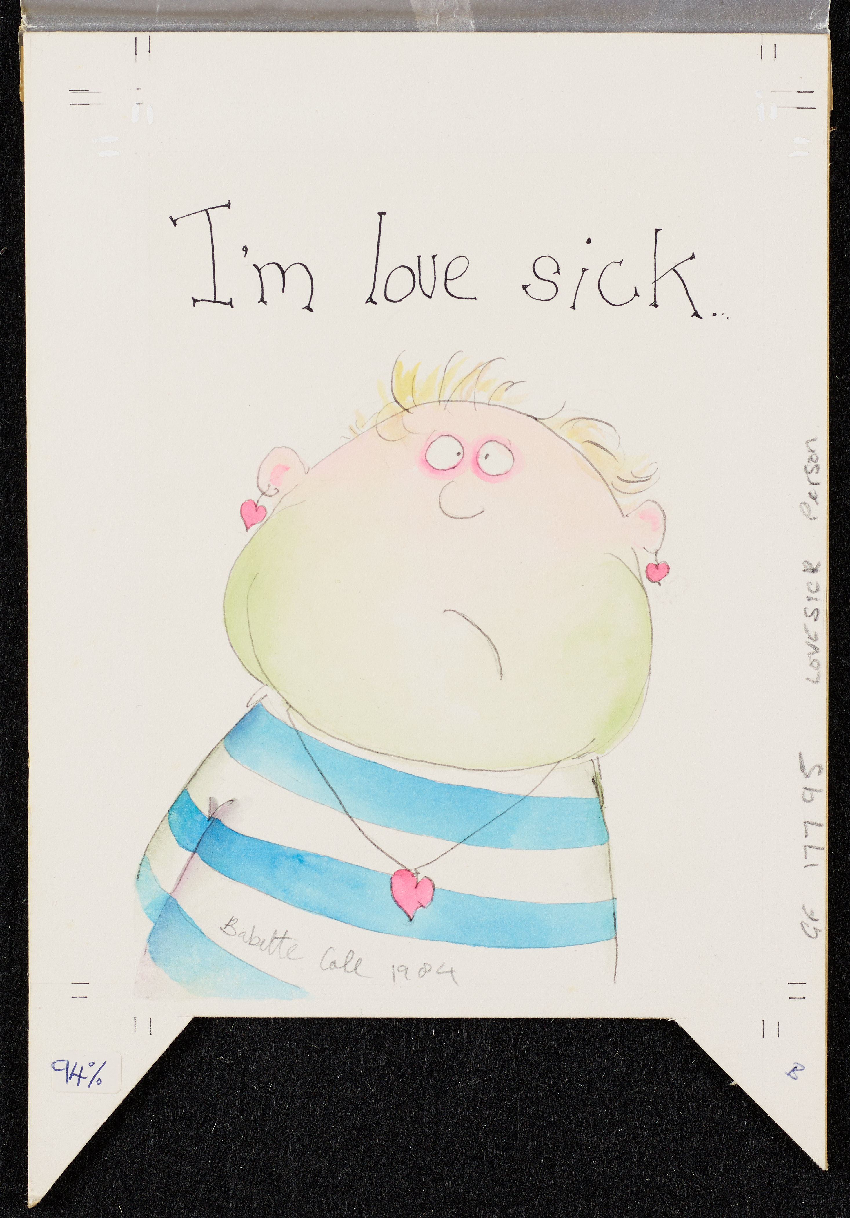I'm love sick